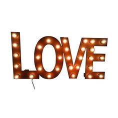 Love Marquee Sign.