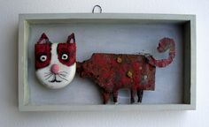 Gerard Collas, sculpter. le chat rouge.jpg