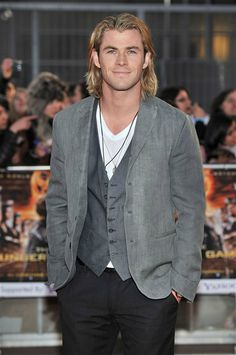 """By Molly McGonigleWhile it's not for everyone, we think there's nothing sexier than a guy with good hair. Since Chris Hemsworth's new movie """"Rush"""" hits theaters on Sept. 20 -- and we're really missing his long locks -- we thought we'd round up other gentlemen who look good with long hair. Chris Hemsworth is still hot with short hair, but there was something special about his long locks. And whether it was up in a bun or hanging freely around his face, it all looked real good on this Aussie."""