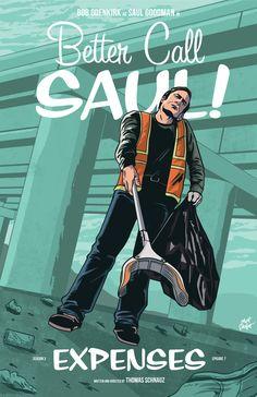 Better Call Saul season 3 episode 7 Expenses poster by Matt Talbot Better Caul Saul, Breaking Bad Meme, Disney Channel, True Detective Season 1, Cartoon Network, Breakin Bad, Most Popular Tv Shows, Saul Goodman, Vince Gilligan