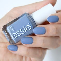 Essie Fall 2017 collection - As If! Cornflower blue nails. Manicure inspiration. #talontedlex