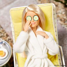 "WEBSTA @ barbiestyle - Need my rest for a major week ahead! I have THE most fashionable agenda planned with a ""model"" citizen of Malibu. Can you guess who?  #barbie #barbiestyle"