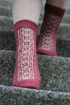 Six tastes socks by Hypercycloid designs