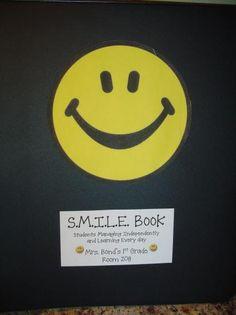 SMILE books for take home folders