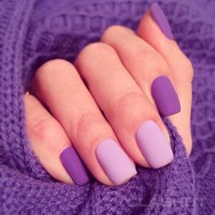 Make an original manicure for Valentine's Day - My Nails Purple And Pink Nails, Lilac Nails, Hot Pink Nails, Pastel Nails, Cute Acrylic Nails, Fancy Nails, Cute Nails, Stylish Nails, Trendy Nails