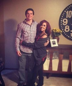 Teen Mom, Chelsea Houska and her boyfriend Cole DeBoer...
