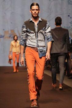 Etro Menswear 2014 Milan