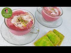 Pink Kashmiri Tea / Chai 4K | چای گلابی - YouTube Kashmiri Recipes, Tea Latte, Chai, Make It Yourself, Sweet, Ethnic Recipes, Desserts, Eye Makeup, Pink