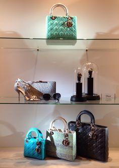 Dior Window Displays at The Encore Hotel, Las Vegas - Photo by Wendy Tomoyasu
