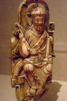 Pectoral Cross Depicting Christ Walrus Ivory Anglo-Saxon 1000-1050 CE