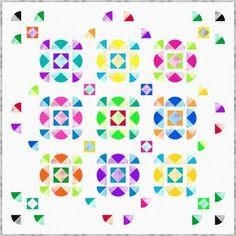 """Prism """"Lola"""" quilt - free pattern"""