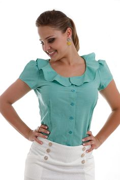 modelos de golas de blusas - Pesquisa Google