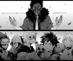 Boku no Hero Academia || Overhaul, Kirishima Eijirou, Tamaki Amajiki, Mirio Togata, Tsuyu Asui, Midoriya Izuku, Uraraka Ochako, Nejire Hadou.