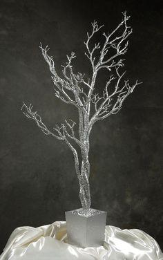 Silver 4' Manzanita Potted Tree
