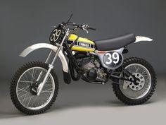 "luispereira65: "" Bob Hannah would win the 1976 AMA 125cc National Motocross Championship on this #39 works Yamaha OW27 """