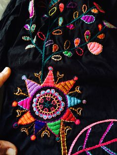 Original handmade embroidery by Japatee contact me on Facebook/Phriaophan Wolstencroft or Japatee page