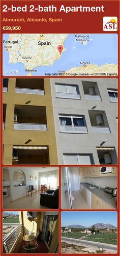 2-bed 2-bath Apartment in Almoradi, Alicante, Spain ►€59,950 #PropertyForSaleInSpain