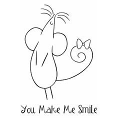 you make me smile~my favorite things {stamps}.this would be cute stamped & stitched. Olds, looks like you'll be on my redwork quilt! Check back with me in five years or so. Embroidery Stitches, Embroidery Patterns, Hand Embroidery, Simple Embroidery, Machine Embroidery, Motifs Animal, Digi Stamps, Clear Stamps, Rock Art