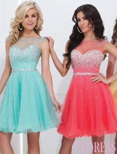 Short Dress Short Prom Dresses
