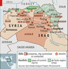 where is isis now map - Google Search