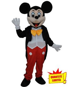 Mickey /& Minnie Mouse Mascotte Costume Cosplay Robe De Soirée Tenue Adultes Parade