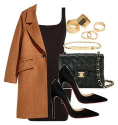 Style #11701 by vany-alvarado on Polyvore featuring polyvore, fashion, style, H&M, Christian Louboutin, Chanel, Pieces, A.P.C. and clothing