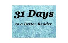 31 Days to a Better Reader