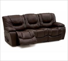 I know - crazy but we have to have a comfortable couch. Will change the leather color. Palliser Santino 41047 Sofa Group