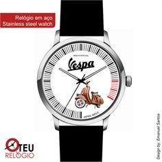 Mostrar detalhes para Relógio de pulso OTR VESPA MOTO 014