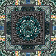 한국을 대표하는 상징 - 단청 문양 패턴 House Plants Decor, Plant Decor, Korean Traditional, Traditional Design, Pattern Art, Pattern Design, Korea Design, Turquoise Art, Oriental Pattern