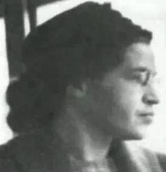Rosa Parks was the first African-American to sit in front of a bus.  On December 1, 1955, in Montgomery, Alabama, Parks refused to obey bus driver James F. Blake's order that she give up her seat to make room for a white passenger.