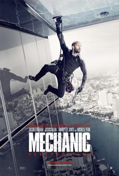 Director: Dennis Gansel Writer: Philip Shelby, Tony Mosher Cast: Jason Statham, Jessica Alba, Tommy Lee Jones, Michelle Yeoh, Natalie Burn, Yayaying Rhatha Phongam, Sam Hazeldine, Aaron Brumfield, John Cenatiempo, Raicho Vasilev Plot: Arthur Bishop thought he had put his murderous past behind him when his most formidable foe kidnaps the love of his life. Now he is forced to travel the globe to complete three impossible assassinations, and do what he does best, make them look like accidents.