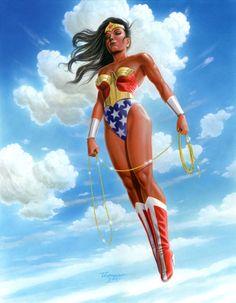 Ascending Wonder Woman