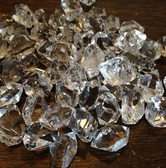 pinterest herkimer | Swimming in Herkimer diamonds at our studio. | Chakras & Colors