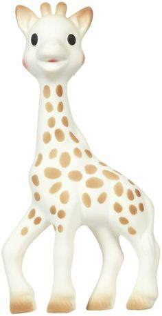 Vulli Sophie the Giraffe Teether in Natural Rubber - this is supposed to be the best teether around! http://bestcheapbabystuff.com/vulli-sophie-the-giraffe-teether/review-of-vulli-sophie-the-giraffe-teether/