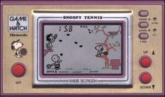 """Nintendo """"Game & Watch"""" Snoopy tennis - I could spend hours playing and hit all records My Childhood Memories, Childhood Toys, Jukebox, Vintage Toys, Retro Vintage, Retro Toys, Mega Drive Games, Tennis Games, Game & Watch"""