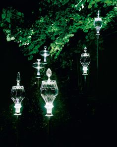 Outdoor Lights Made Of Baccarat Crystal Would Be Great Through The Trees On My Land