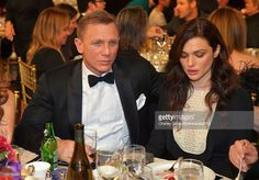 Honoree Daniel Craig and actress Rachel Weisz attend the 2012 BAFTA Los Angeles Britannia Awards Presented By BBC AMERICA at The Beverly Hilton Hotel on November 7, 2012 in Beverly Hills, California.