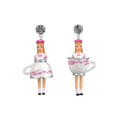 N2 - Le Tea Time d'Alice Earrings