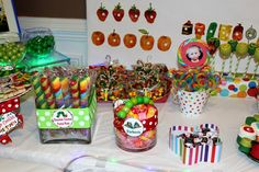 The Very Hungry Caterpillar Candy Buffet