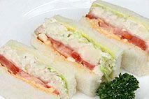 ポテトサラダのシングル(3ピース)サンドウィッチファクトリー/SANDWICH FACTORY