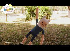 Muñeco Finn, el Humano Amigurumi (Hora de Aventuras)- Patrón Gratis en Español aquí: http://conmismanosmaniosas.blogspot.de/2014/08/amigurumi-finn-el-humano.html