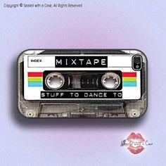 Casete de cinta mezcla retro iPhone 4/4S 5/5S/C 5/6/6 y