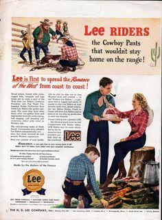H.D.Lee Ad, 1946