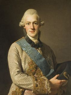 1770 Alexander Roslin - Prince Frederick Adolph of... | History of fashion in art & photo