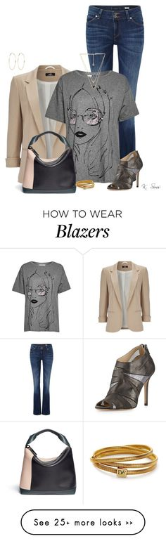 """TGIF"" by ksims-1 on Polyvore featuring Lee, Wallis, French Connection, Jimmy Choo, Marni, Diane Von Furstenberg, House of Harlow 1960 and River Island"