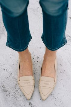 Club Monaco Loafers | thevillagevogue.com
