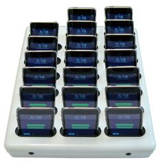 Multiple Unit Charging Station Docking Stations New Ipad Library Design