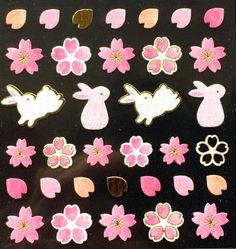 In case you missed it, here you go  Cherry Blossom Stickers - Japanese Washi Paper Stickers - Chiyogami Flower Stickers - Rabbit stickers - (S198) https://www.etsy.com/listing/263802878/cherry-blossom-stickers-japanese-washi?utm_campaign=crowdfire&utm_content=crowdfire&utm_medium=social&utm_source=pinterest