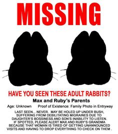 Max and Ruby's parents